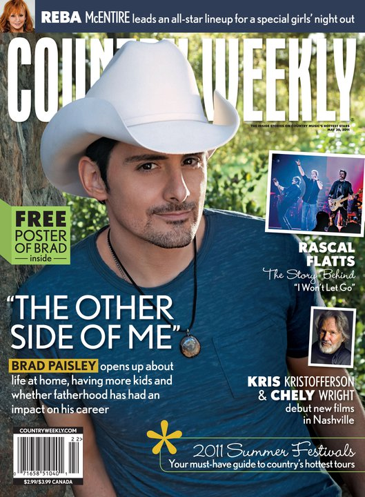 brad paisley this is country music album cover. Brad Paisley talks about the